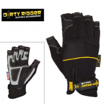 Перчатки Dirty Rigger Comfort Fit  (Fingerless) от магазина RiggerShop